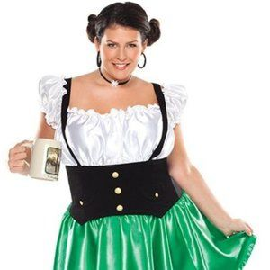 Lager Lass Costume October Fest Size 1x/2x